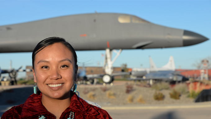 LRS Airman inspired by family's service to tribe, military