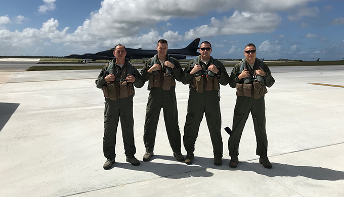 28th Bomb Wing leadership visits Guam