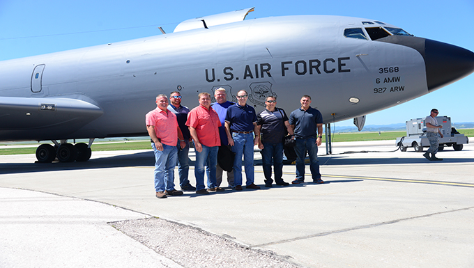 Area learders get the chance to fly and fuel